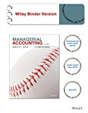 Managerial Accounting  2nd 2014 9781118854808 Front Cover