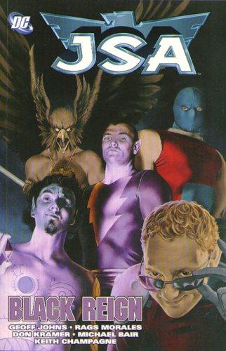 Jsa Black Reign  2005 (Revised) 9781401204808 Front Cover