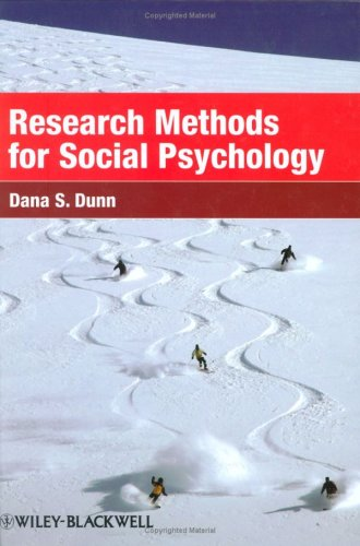 Research Methods for Social Psychology   2008 9781405149808 Front Cover