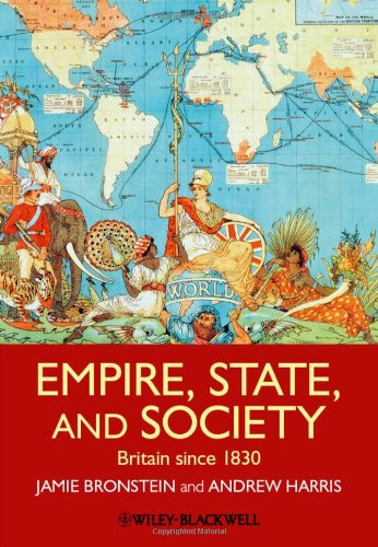 Empire, State, and Society Britain since 1830  2012 edition cover