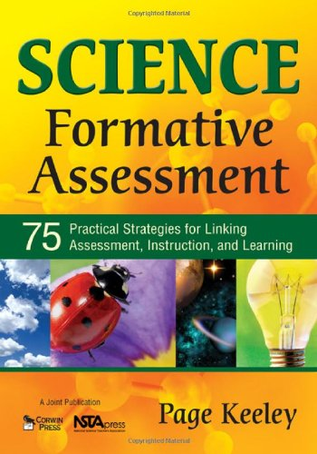 Science Formative Assessment 75 Practical Strategies for Linking Assessment, Instruction, and Learning  2008 edition cover