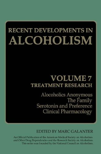 Recent Developments in Alcoholism Treatment Research  1989 9781489916808 Front Cover