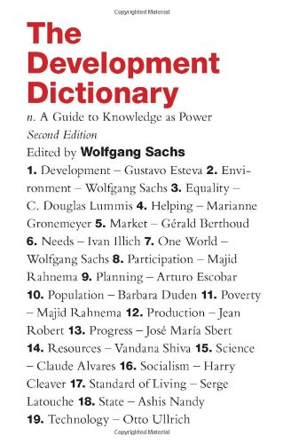 Development Dictionary A Guide to Knowledge as Power 2nd 2010 (Revised) edition cover