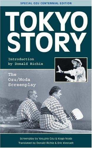Tokyo Story The Ozu/Noda Screenplay  2003 edition cover