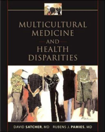 Multicultural Medicine and Health Disparities   2006 edition cover