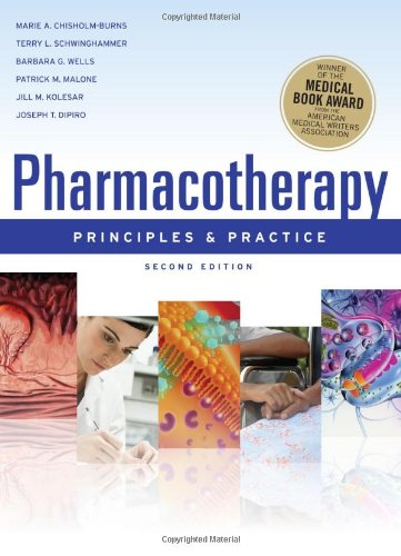 Pharmacotherapy Principles and Practice  2nd 2010 edition cover