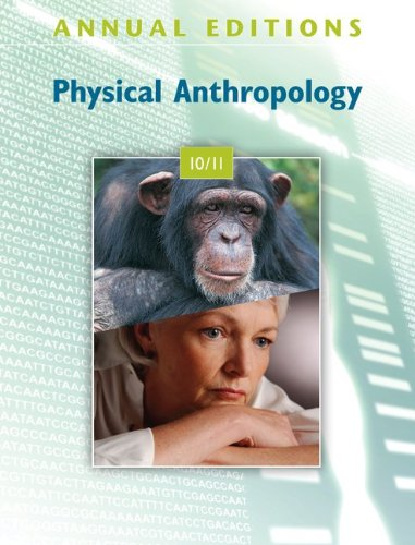 Annual Editions: Physical Anthropology 10/11  19th 2010 edition cover