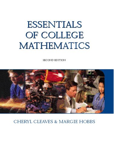 Essentials of College Mathematics  2nd 2006 (Revised) edition cover