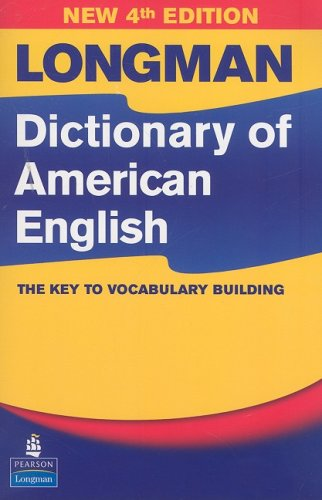 Longman Dictionary of American English  4th 2008 edition cover