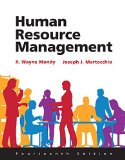 Human Resource Management  14th 2016 9780133848809 Front Cover