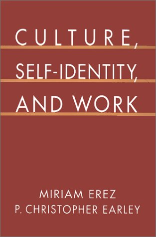 Culture, Self-Identity, and Work   1993 9780195075809 Front Cover