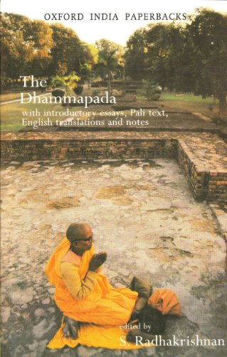 Dhammapada With Introductory Essays, Pali Text, English Translation and Notes  1997 edition cover