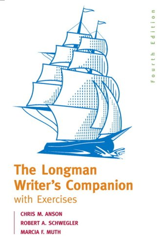 Longman Writer's Companion with Exercises MLA Update Edition 4th 2008 edition cover