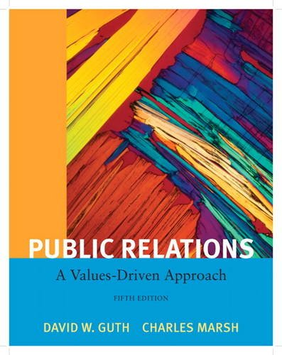Public Relations A Value Driven Approach 5th 2012 (Revised) edition cover