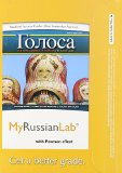 MyRussianLab with Pearson EText -- Access Card -- for Golosa A Basic Course in Russian, Book One (one Semester Access) 5th 2012 edition cover