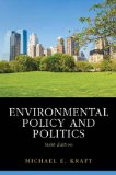 Environmental Policy and Politics  6th 2014 (Revised) edition cover