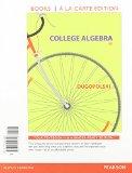 College Algebra, Books a la Carte Edition  6th 2015 edition cover