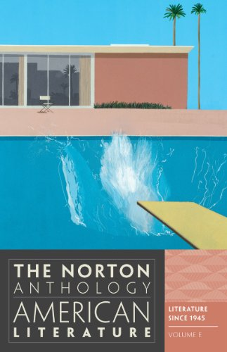 Norton Anthology - American Literature  8th 2012 edition cover