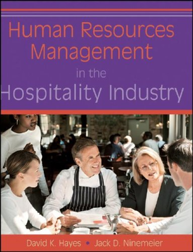Human Resources Management in the Hospitality Industry   2009 edition cover