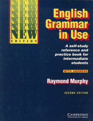 English Grammar in Use with Answers Reference and Practice for Intermediate Students 2nd 1999 edition cover
