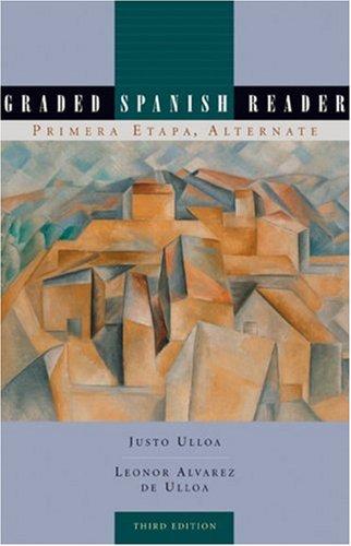 Graded Spanish Reader Primera Etapa 4th 2006 edition cover