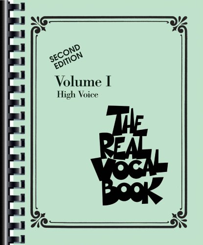 Real Vocal Book High Voice 2nd edition cover