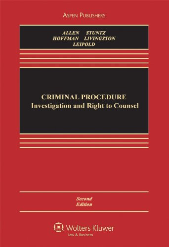 Criminal Procedure Investigation and Right to Counsel 2nd (Revised) edition cover