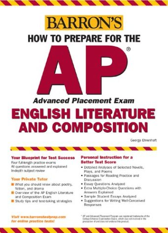 How to Prepare for the AP English Literature and Composition  8th 2004 edition cover