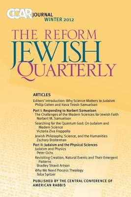 CCAR Journal The Reform Jewish Quarterly - Winter 2012 N/A 9780881231809 Front Cover