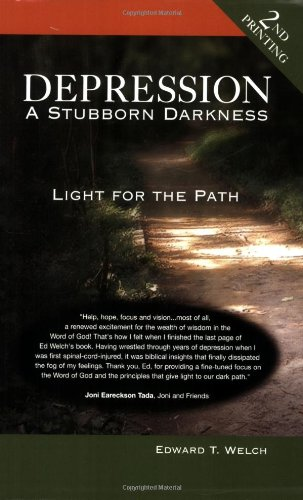 Depression A Stubborn Darkness - Light for the Path  2004 edition cover