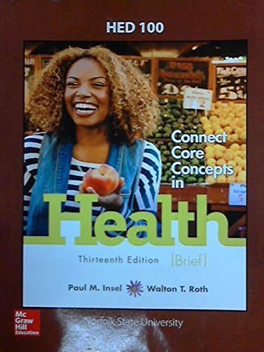 HEALTH,BRIEF-TEXT >CUSTOM<              N/A 9781259411809 Front Cover