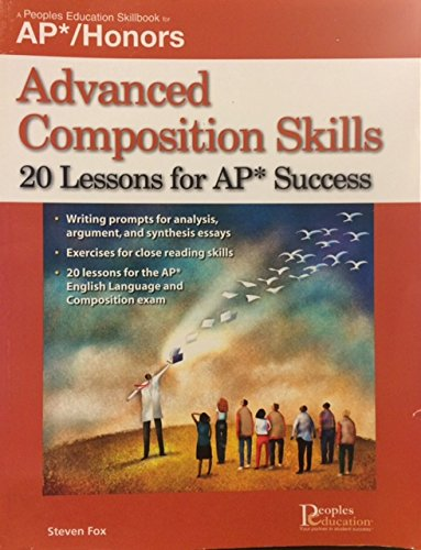 Advanced Composition Skills, 20 Lessons for Ap Success:   2005 edition cover