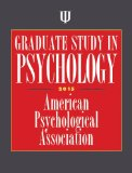 Graduate Study in Psychology   2014 edition cover
