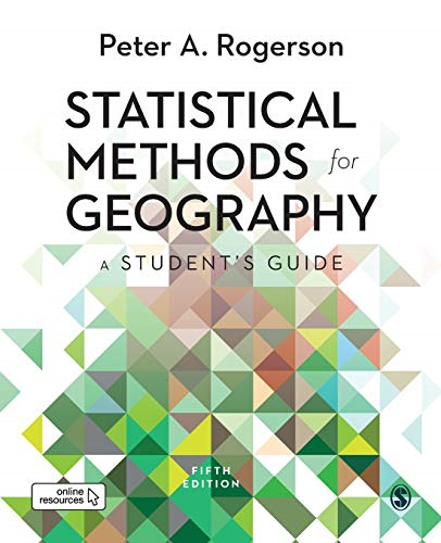 Cover art for Statistical Methods for Geography, 5th Edition