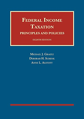 FEDERAL INCOME TAXATION:PRIN.+POL.      N/A 9781640206809 Front Cover