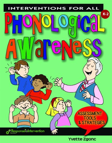Interventions for All Phonological Awareness  2010 edition cover