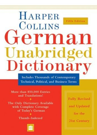 German  5th 2004 (Unabridged) 9780060733810 Front Cover