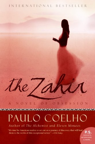 Zahir A Novel of Obsession N/A edition cover