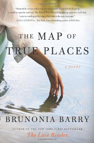 Map of True Places A Novel N/A 9780061624810 Front Cover