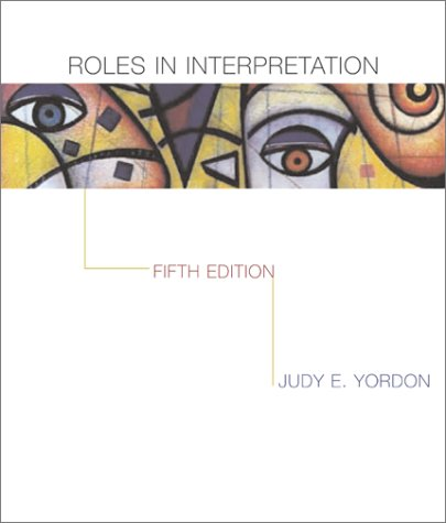 Roles in Interpretation  5th 2002 (Revised) edition cover