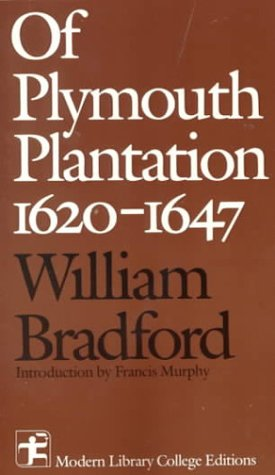 Of Plymouth Plantation, 1620-1647   1988 edition cover