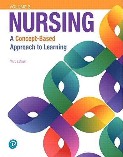 Nursing: A Concept-based Approach to Learning  2018 9780134616810 Front Cover