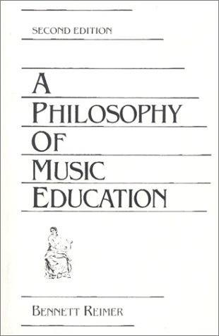 Philosophy of Music Education  2nd 1989 edition cover