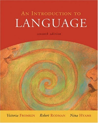 Introduction to Language  7th 2003 9780155084810 Front Cover