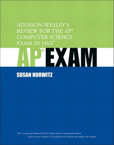Addison-Wesley's Review for the AP Computer Science Exam in Java   2004 edition cover