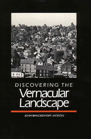 Discovering the Vernacular Landscape   1984 edition cover