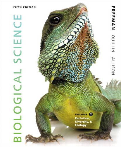 Biological Science Volume 2  5th 2014 edition cover
