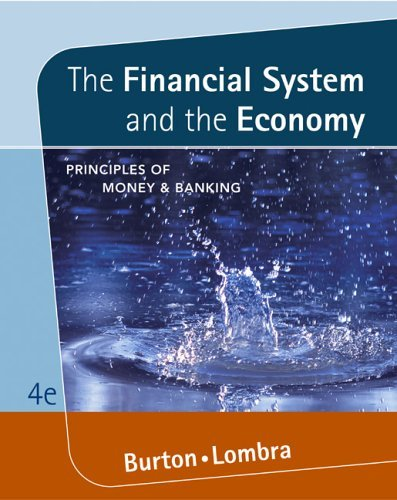 Financial System and the Economy : Principles of Money and Banking 4th 2006 edition cover