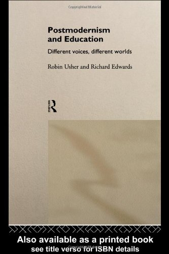 Postmodernism and Education Different Voices, Different Worlds  1994 edition cover