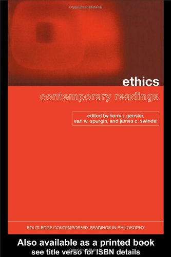 Ethics Contemporary Readings  2003 edition cover